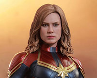 Movie Masterpiece - 1/6 Scale Fully Poseable Figure: Captain Marvel - Captain Marvel(キャプテン・マーベル)