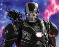 Movie Masterpiece Diecast - 1/6 Scale Fully Poseable Figure: Avengers: Endgame - War Machine(ウォーマシン)