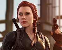 Movie Masterpiece - 1/6 Scale Fully Poseable Figure: Avengers: Endgame - Black Widow(ブラック・ウィドウ)