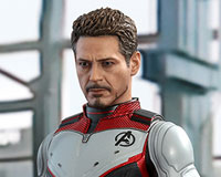 Movie Masterpiece - 1/6 Scale Fully Poseable Figure: Avengers: Endgame - Tony Stark (Team Suit Version)