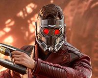 Movie Masterpiece - 1/6 Scale Fully Poseable Figure: Avengers: Infinity War - Star-Lord(スター・ロード)