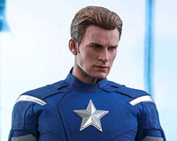 Movie Masterpiece - 1/6 Scale Fully Poseable Figure: Avengers: Endgame - Captain America (2012 Version)